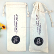 skin care pouches muslin cotton fabric package bag