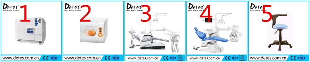 Detes high quality dental chair TS-TOP301 with Italy Faro LED light