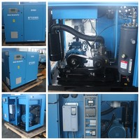 High performance gas powered air compressor