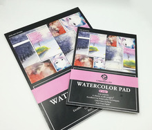 Student Full Color Printing Cheap Water Color Pad