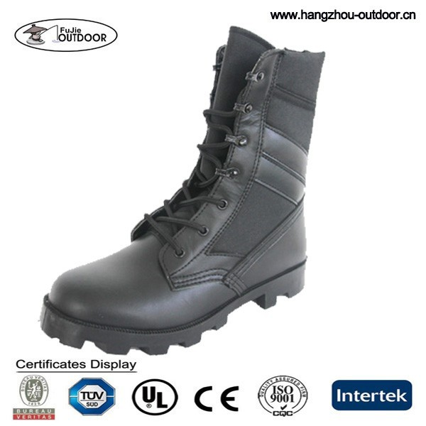 Mens Black Military Police tactical Boots