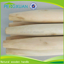 natural straight small dome tapered handles eucalyptus wood