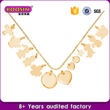 2017 low price pendant blanks charms for bracelet making