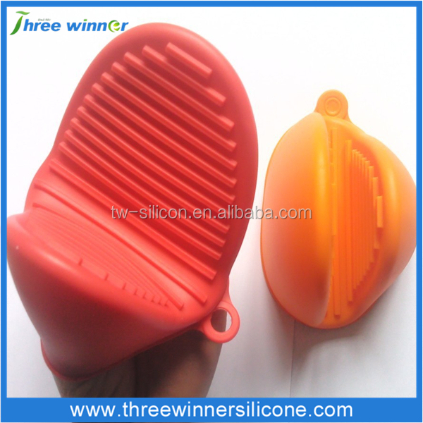 kitchenware handle silicone hot pot finger holder silicone holder