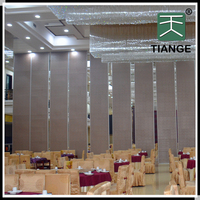 MDF/glass materials used building partition wall