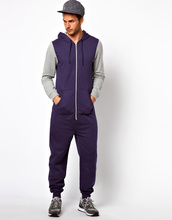 Jumpsuits for men With Contrast Sleeves