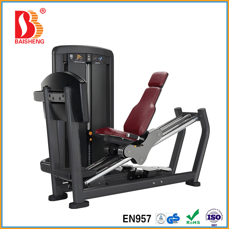 Slim Gym Exercise Equipment Seated Leg Press Machine For Sale