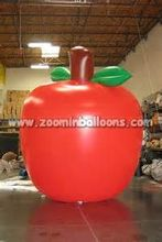 Top quality inflatable apple helium balloon N1118