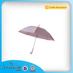 Made in China auto open little girls plastic pink umbrella