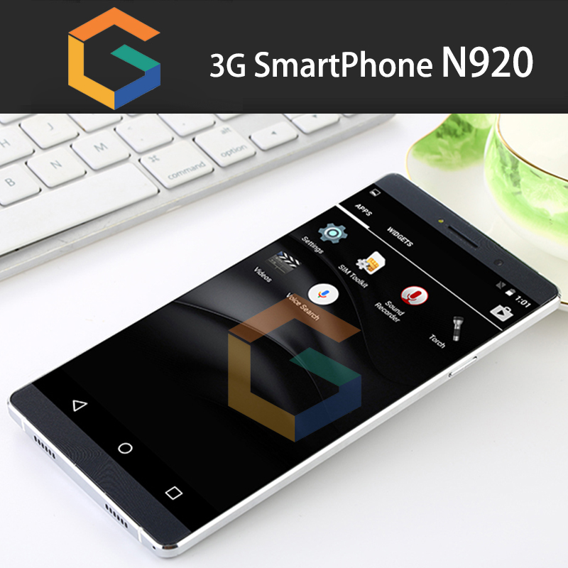 MTK6580 3G smartphone N920 mobile phone Professional OEM/ODM factory 6inch super slim cellphone unlocked latest smartphones