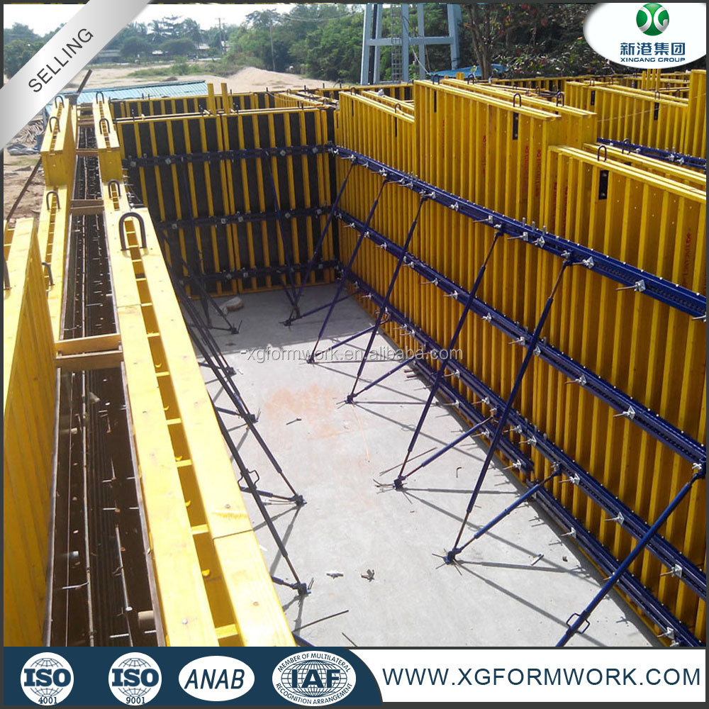 Wall Panel Formwork System/concrete Forming System Concrete Formwork