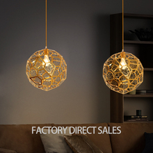 Postmodern Creative stainless steel electroplating gold pendant lighting