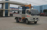 Dongfeng 2000kg hoisting load truck with folding type crane