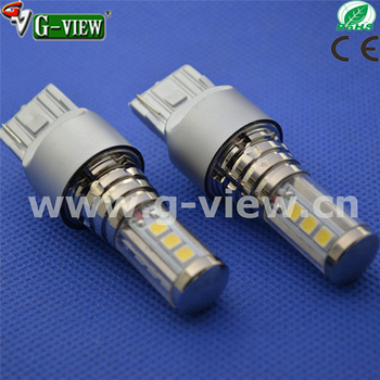 new design led light for car W21W 7440 LG 3030chip auto led bulb