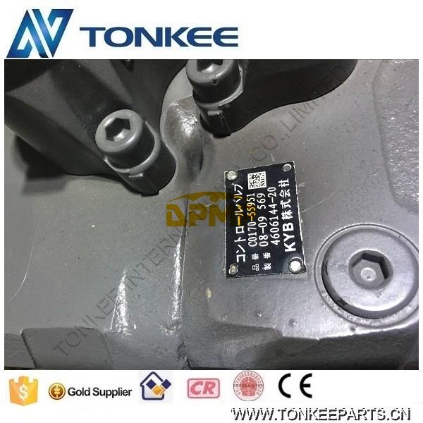 KYB 4606144  ZX200-3, ZX230-3, ZX240-3 control valve & main control valve  ( (5).jpg
