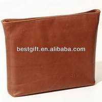 Fashion genuine leather laptop sleeve for ipad 2 sleeve bags