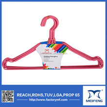 2016 kid wire hangers PE Coated 16' childrens wire hangers