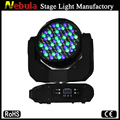 91*3W led zoom RGBW moving head wash light/zoom led moving head wash