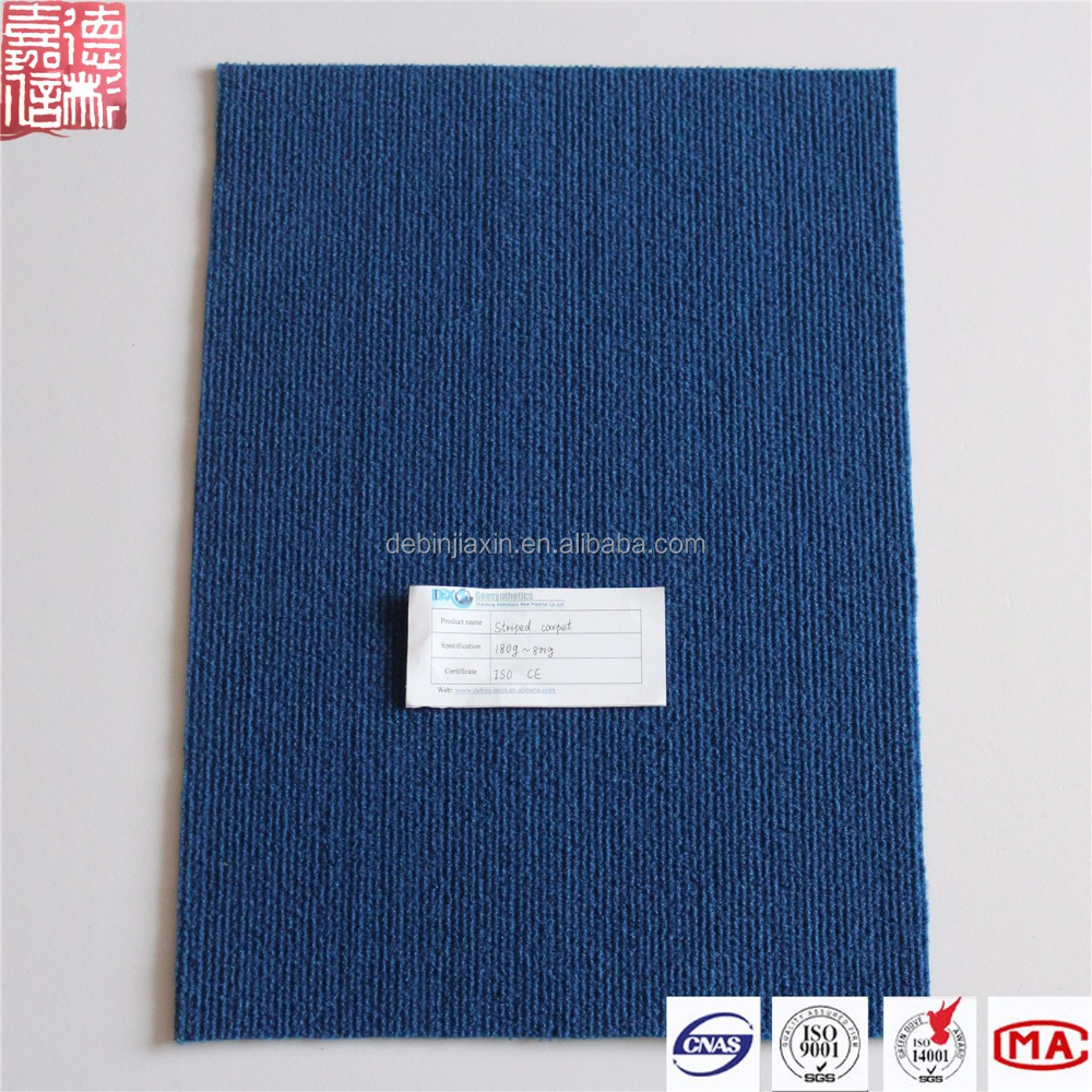 Moquette Polyester Needle Punch Non-woven Printed Plain Carpet For Exhibition