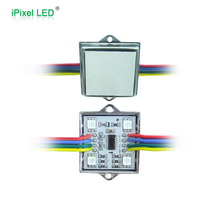 High quality 12v waterproof rgb 4led smd 5050 led pixel module ws2801