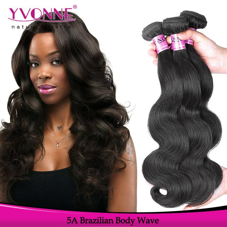 Unprocessed 100% virgin brazilian human hair