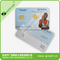 Java Small Chip 6pin LTE Programmable SIM Card 4G USIM