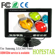 7 inch Analogue Car TV Monitor with TV USB SD
