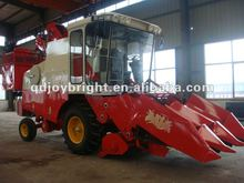 wheel self-propelled header interchangable Corn and Wheat Combine Harvester