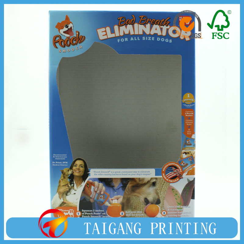 Dog Toy Packaging box With Clear Window