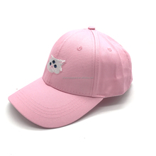 100% cotton fabric pink polo baseball hat manufacturer
