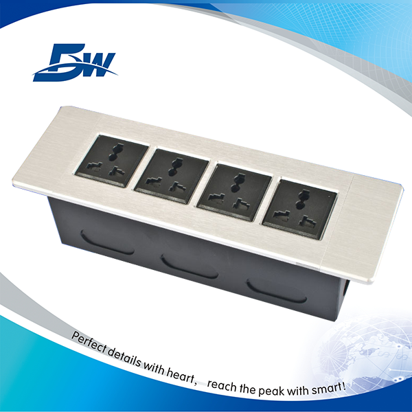Aluminum Wall Socket With Power USB Port