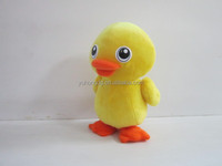 yellow flapping duck