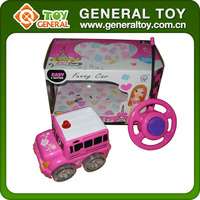 Girl Plastic Toy Type Remote Control Battery Car