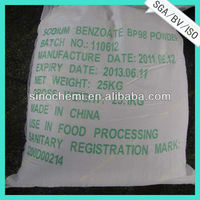 white powder sodium benzoate as preservative manufacturer