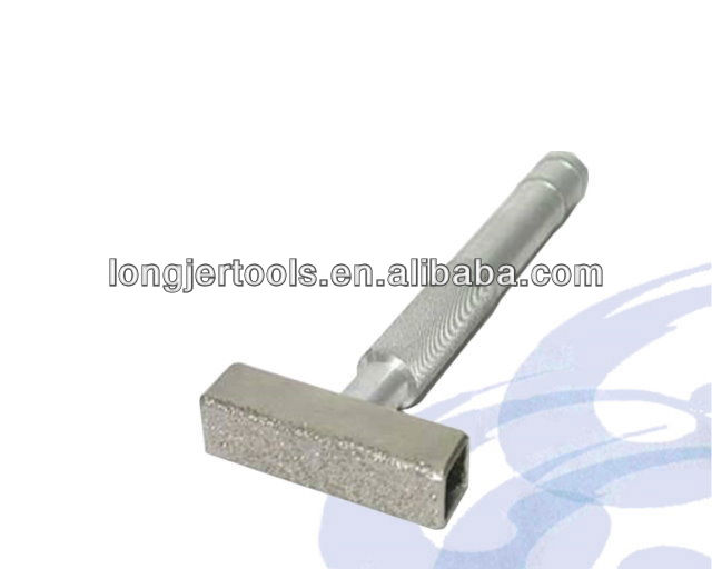 Diamond Dresser Square Steel Hand Tools With Aluminum Handle