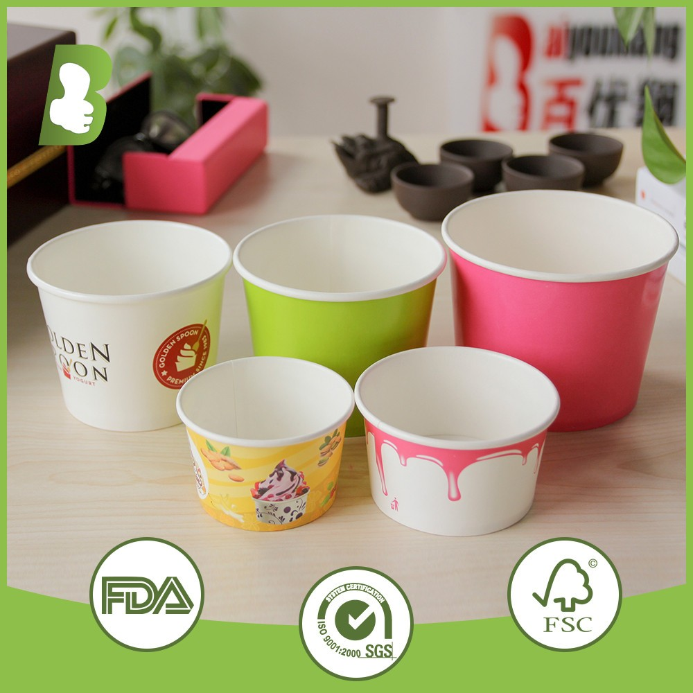 cheap price wholesale disposable ice cream cups salad bowls