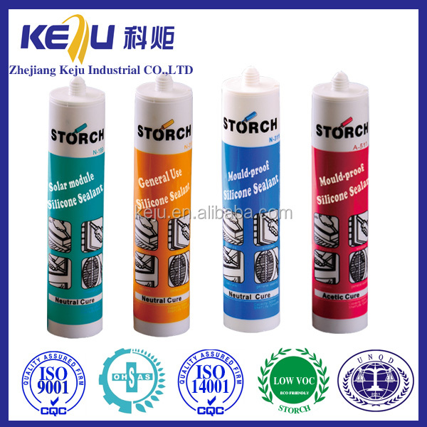 A510 general cure silicone sealant for air ventilating duct