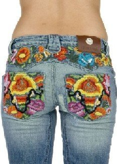 Embroidery Jean