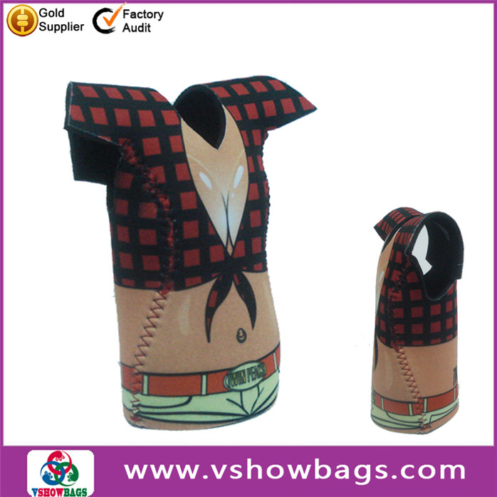 beverage cooler neoprene coffee cup holder 2014 high quality & fashion printing neoprene stubby holders