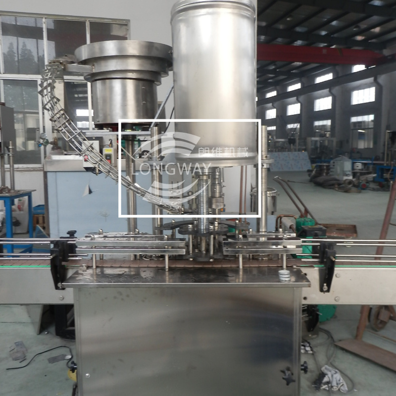 Metal Lug Twist Off Cap 48mm 53mm Capping Machine For Beverage industry