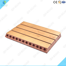 2016 Shopping Mall Sound Absorbing Wall Covering Wood Panel Adhesives
