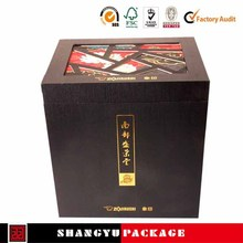 high end 2015 fresh drawer design wine boxes