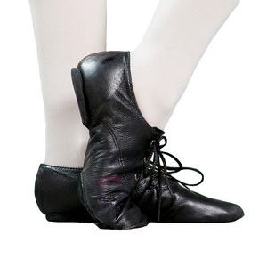 S5214 black jazz shoes slip on dance shoes jazz for sale