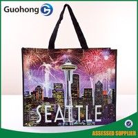 Custom Design Hot Sale Laminated PP Nonwoven Tote Bag | Nonwoven Shopping Bag