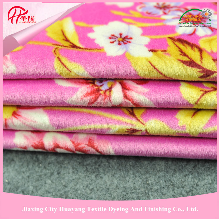 Super soft surface cotton rose print fabric