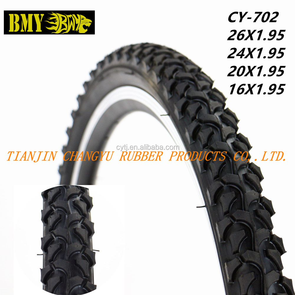 cheap black bicycle tire 26x1.95 24x1.95 20x1.95 16x1.95