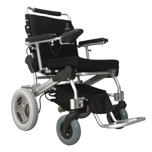 e-Throne! New Innovative design 10'' folding / foldable power electric wheelchair CE/FDA approved, best in the world PLN 17001