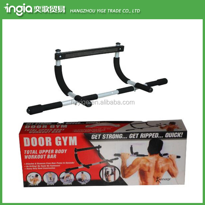 Exercise Door Gym Bar Horizontal Wall Mount Chin Pull Up Bar