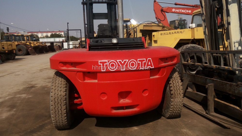 TOYOTA 20ton forklift forklift attachment single/double pallet handler in shanghai for sale