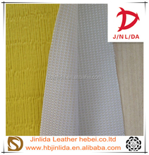 PVC leather Custom colors synthetic leather